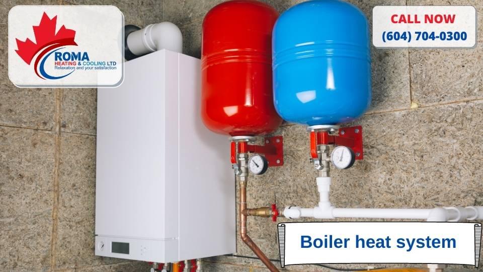 Boiler heat system